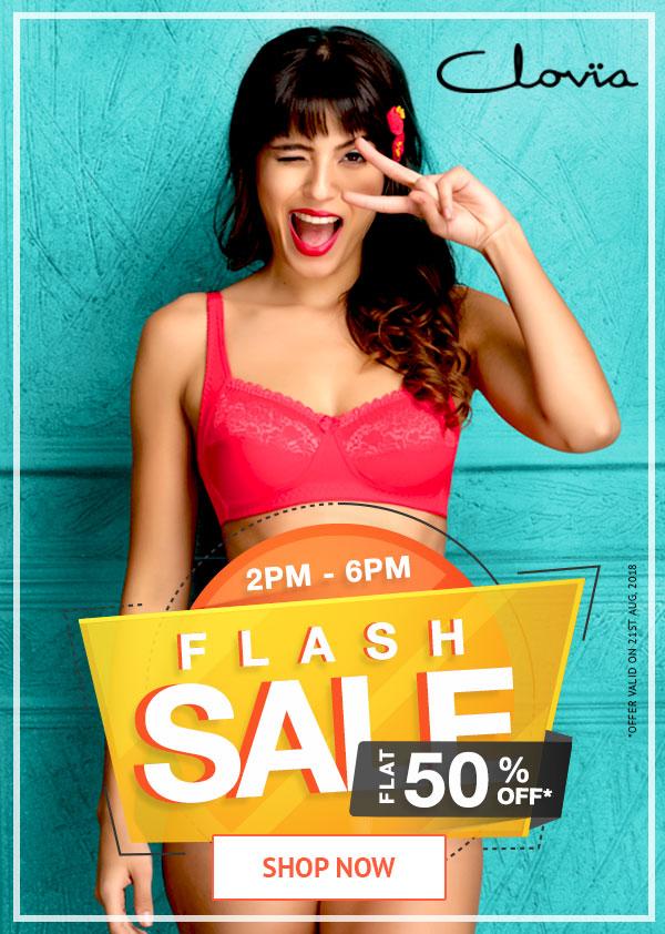 Flash Sale Elle Flat 60% Off