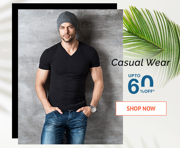 Casual Wear Upto 60% Off