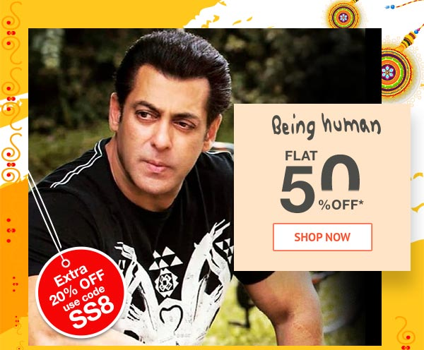 Being Human Flat 50% Off