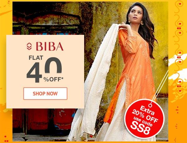 Biba Flat 40% Off