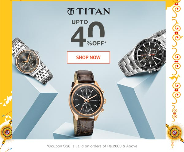 Titan Upto 40% Off