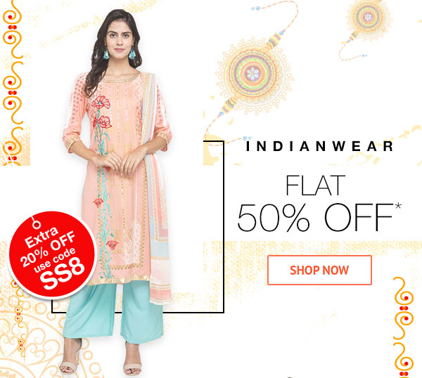 Indianwear Flat 50% Off