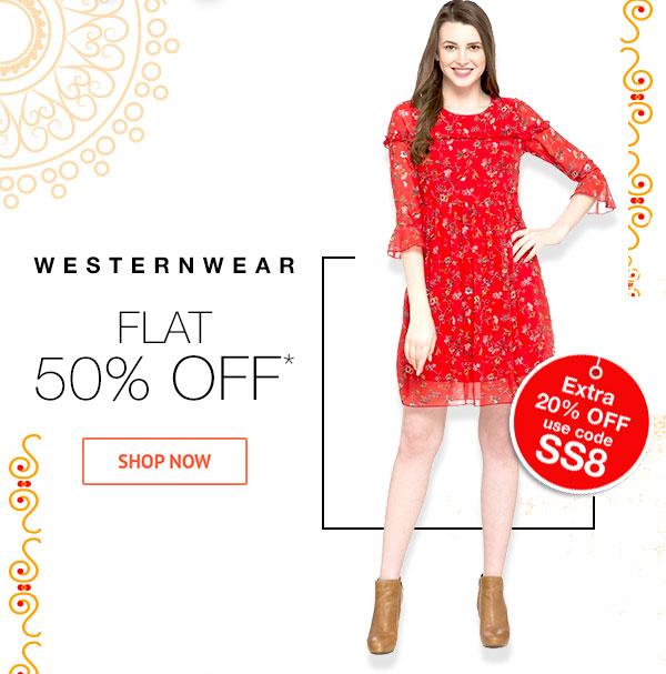 Westernwear Flat 50% Off