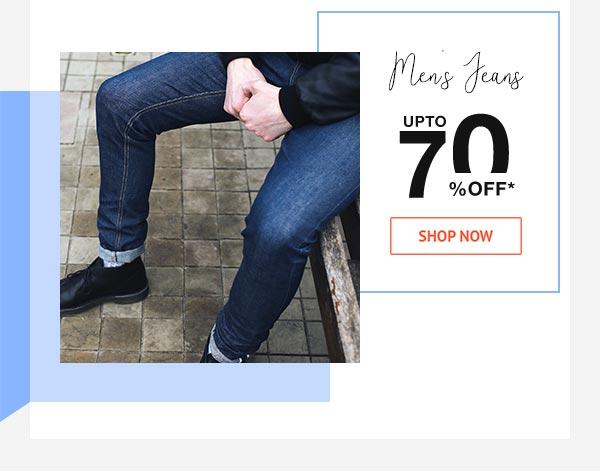 Men's Jeans Upto 70% Off