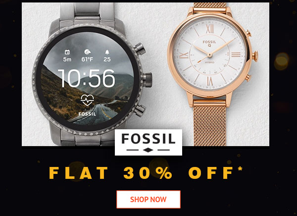 Fossil Flat 30% Off