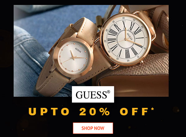 Guess Upto 20% Off