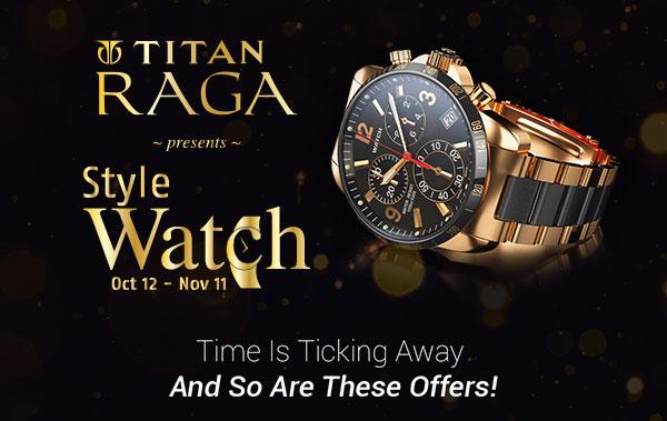 Titan Raga Style Watch