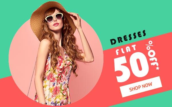 Dresses Flat 50% Off